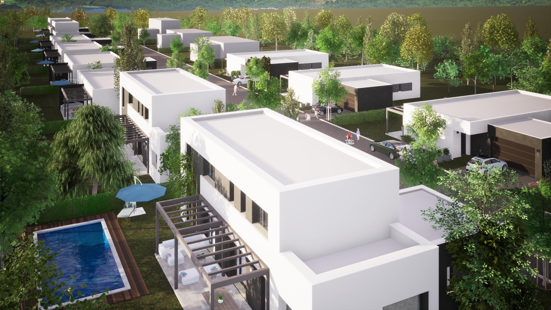 Puerta del Caminón:<br/> Nueva urbanización Passivhaus